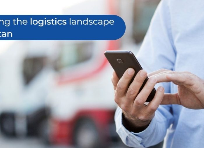 Banner image for blog illustrating disruption in the logistics industry of Pakistan