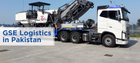 GSE logistics in pakistan