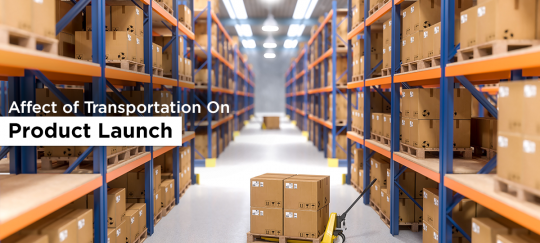 role of logistics in product launch